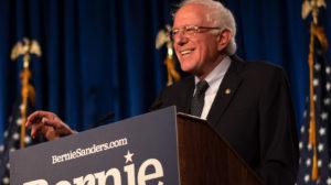 Bernie Sanders, senador americano, disputa as primárias do Partido Democrata para a nomeação como candidato às próximas eleições presidenciais que terão lugar em Novembro de 2020. Fonte: berniesanders.com