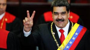 O presidente da Venezuela Nicolás Maduro é acusado pela administração Trump por tráfico internacional de drogas. Foto: Reuters/Carlos Garcia Rawlins