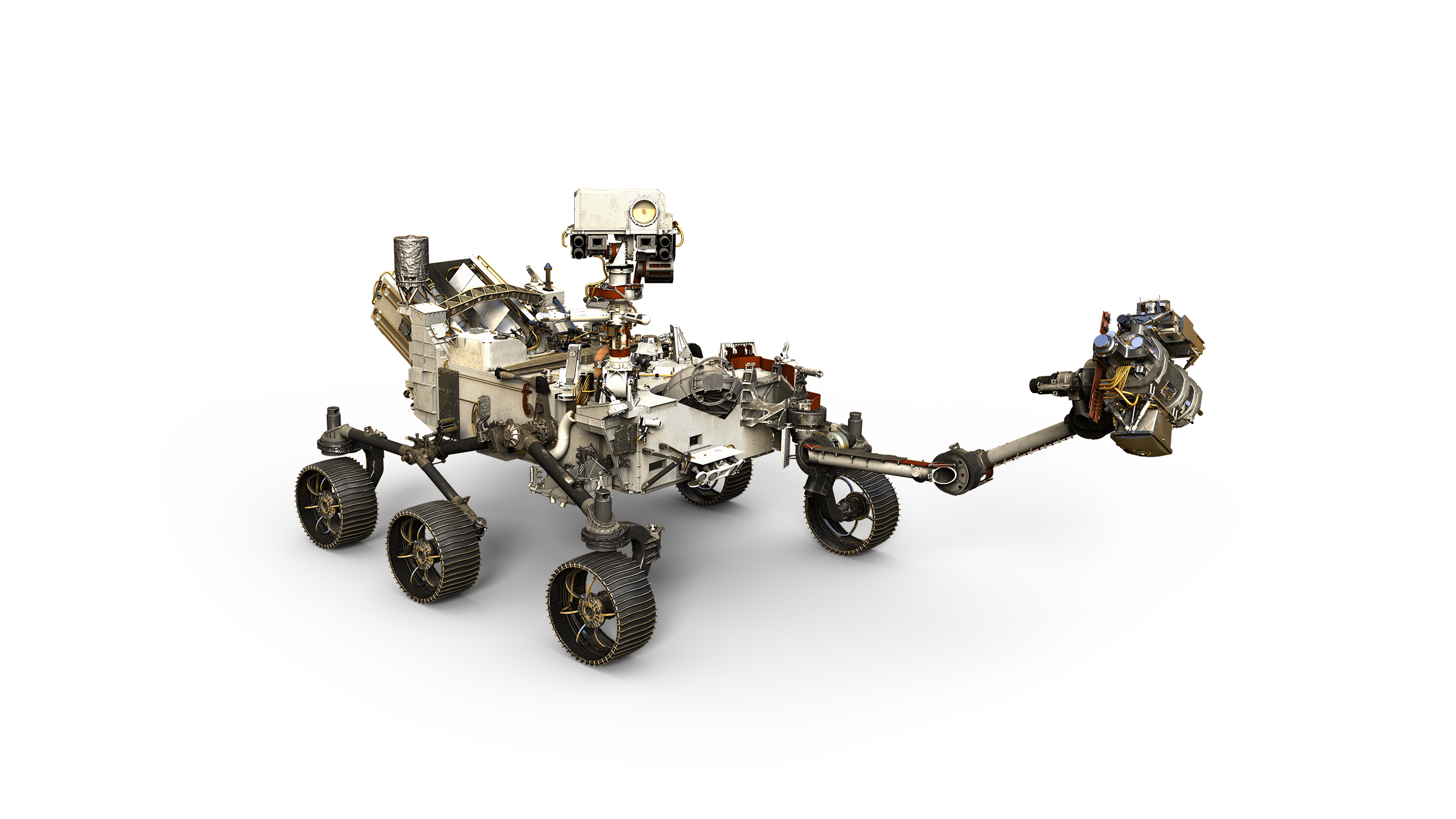 Perseverance (Mars 2020 rover). Fonte: NASA