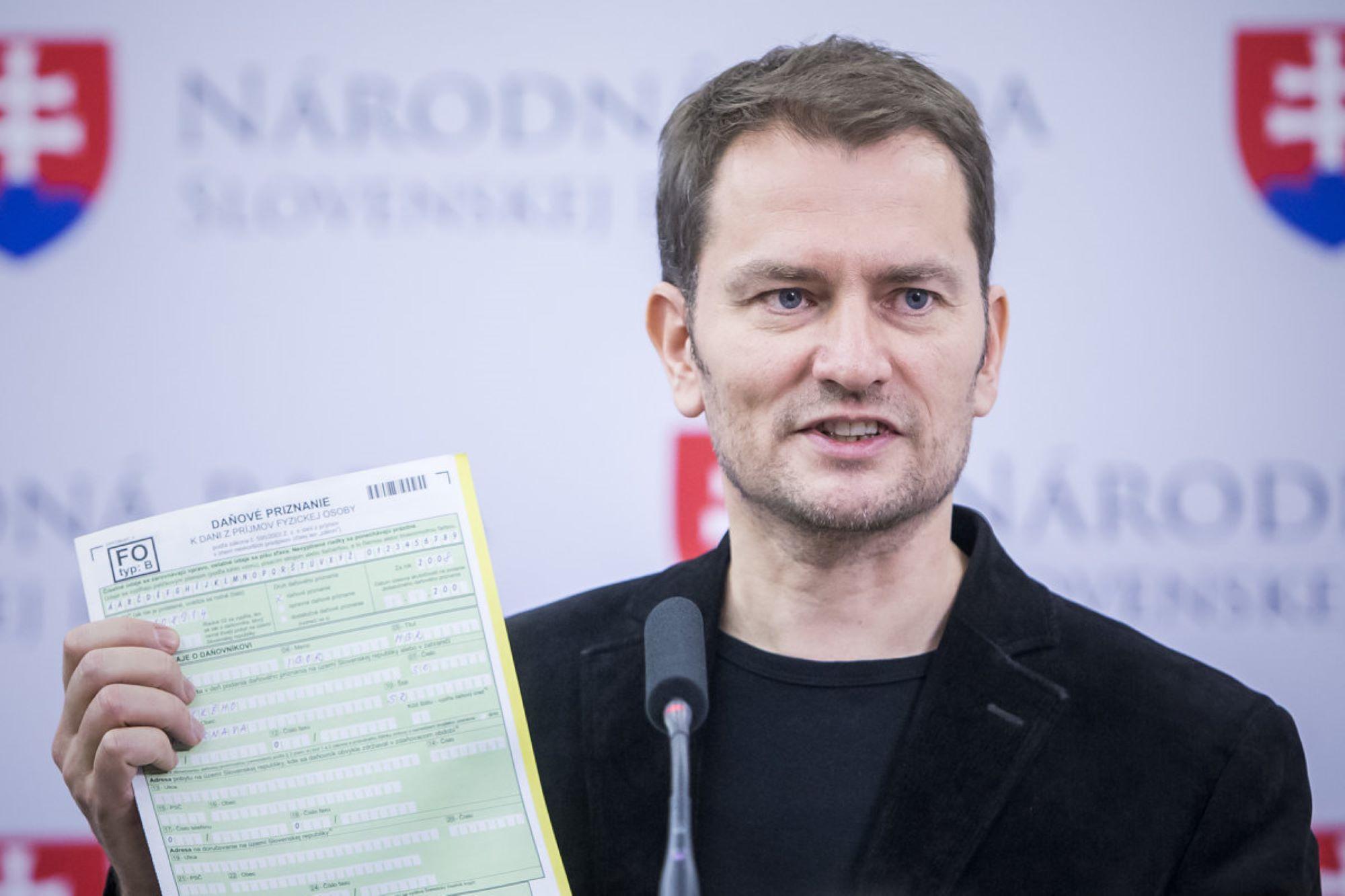 Igor Matovič, Primeiro ministro da Eslováquia ( fonte: Sme)