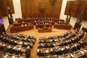 Parlamento eslovaco ( fonte: https://www.dailymail.co.uk/)