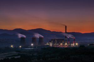 Central termoeléctrica de Golemo Selo (Bulgaria). Fotografia: Viktor Kiryanov