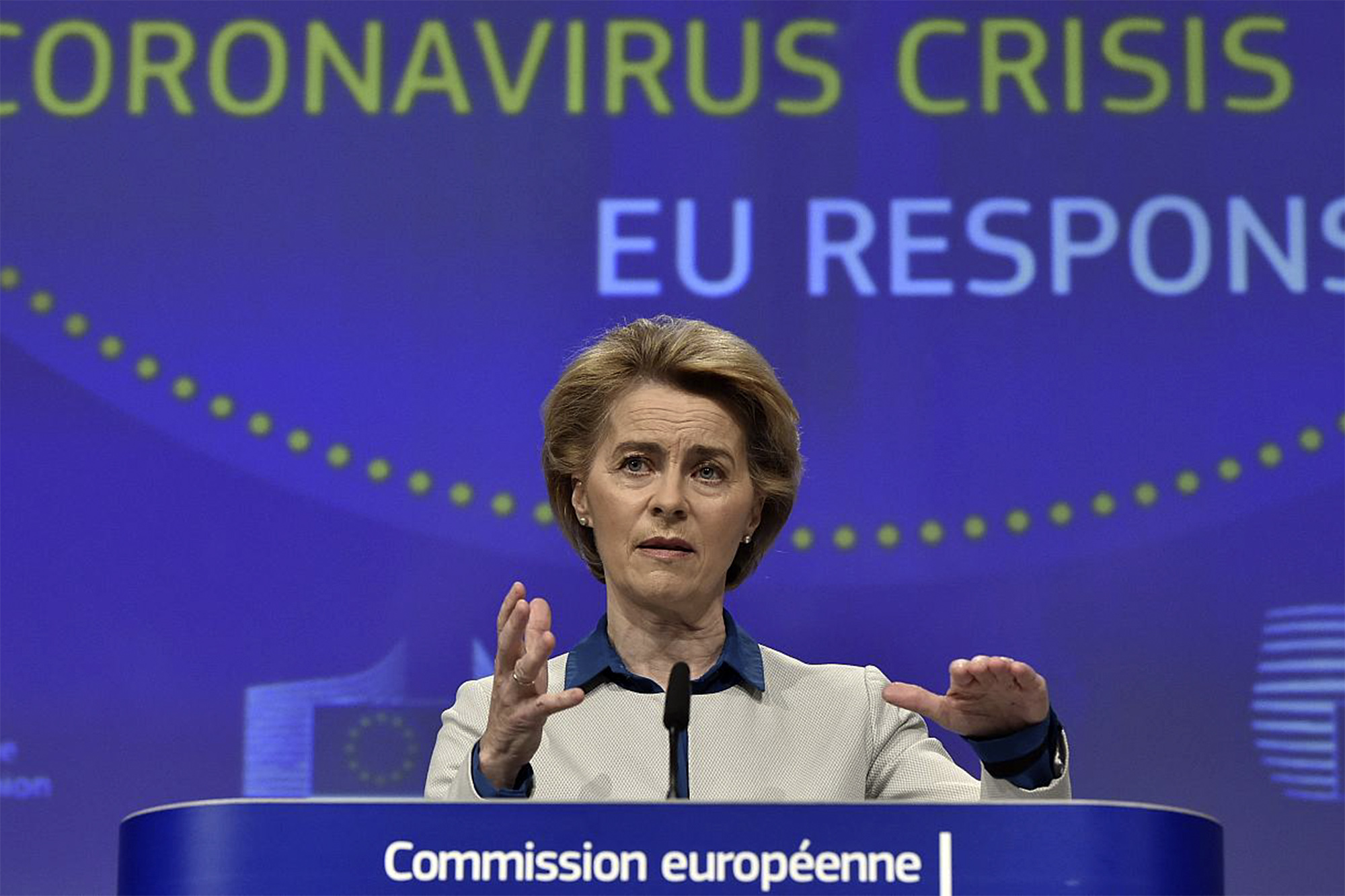 Ursula von der Leyen, Presidente da Comissão Europeia. Fonte: Euonews.