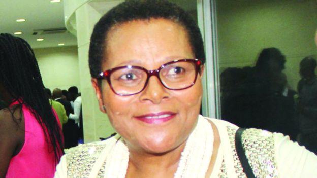 Lipolelo foi assassinada quando tinha apenas 58 anos, 2 dias antes de Thomas assumir o cargo de PM. Foto: Lesotho Times