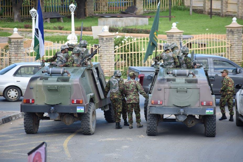 O PM mobilizou as tropas para as ruas da capital. Foto: Molise Molise/AFP-GettyImages