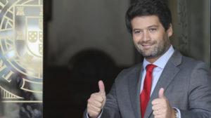 André Ventura, presidente demissionário do CHEGA. Fonte: partidochega.pt