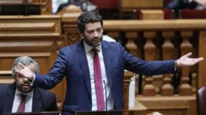 André Ventura, deputado e presidente do Chega. Fonte: partidochega.pt