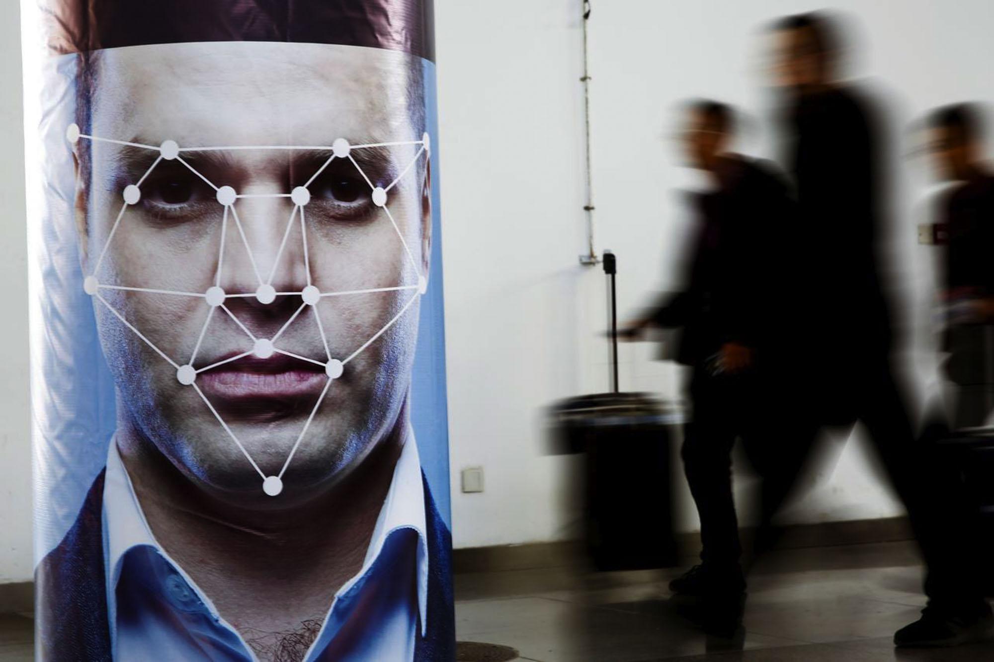 As tecnologias de reconhecimento facial estão cada vez mais disseminadas. Fonte: REuters