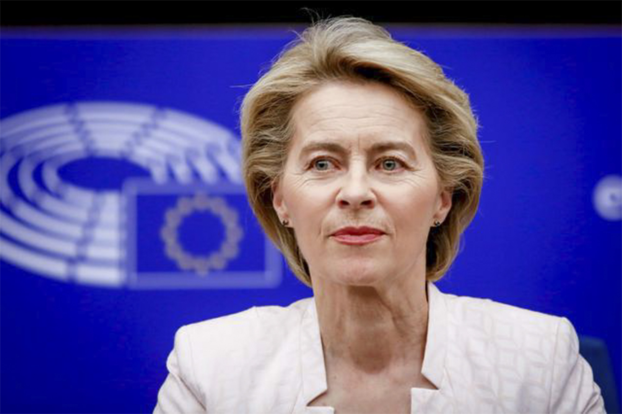 Ursula Von der Leyen, Presidente da Comissão Europeia. Fonte: europa.eu